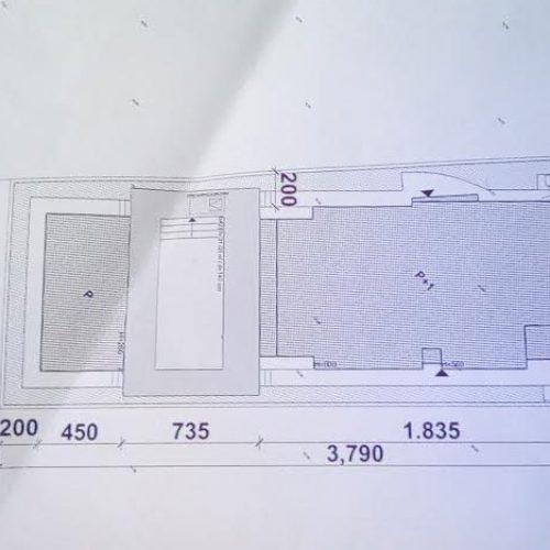 Građevinsko zemljište: 500 m2 + Građevinska dozvola