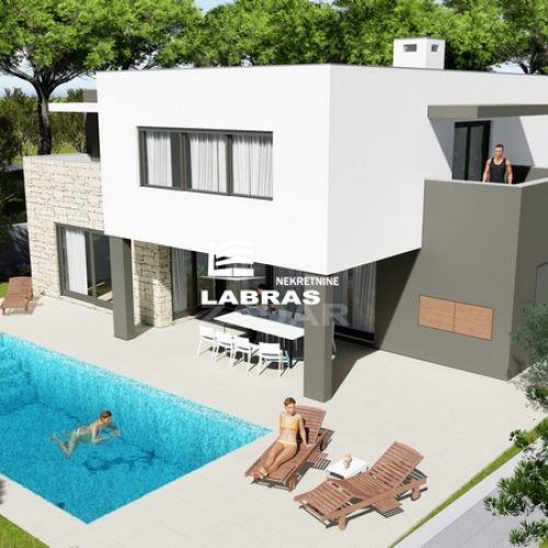 Luksuzna katnica s bazenom: 198,72 m2, Vodice