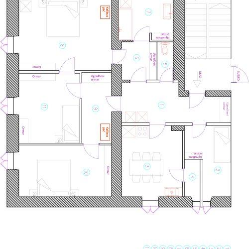 Stan: 92,7 m2 Poluotok