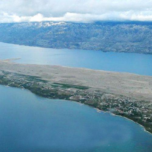 Građevinsko zemljište: 1488 m2 Rtina – 170 m od mora!