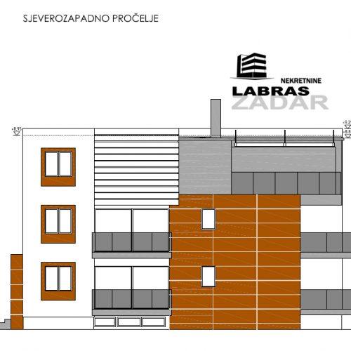 Penthouse: Kožino, 102,97 m2, novogradnja A5