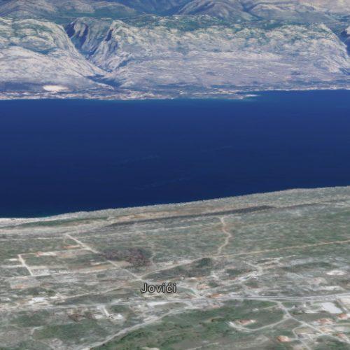 Građevinsko zemljište, Jovići, 780 m2 – Pogled na more!!