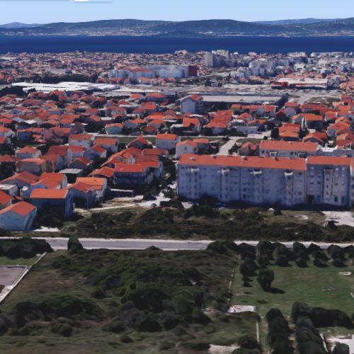 Građevinsko zemljište, Zadar-Bili brig 2783 m2 – SM zona!!!