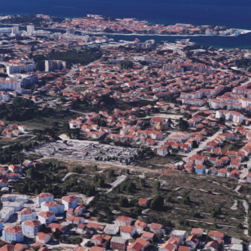 Građevinsko zemljište, Zadar-Belafuža, 1963 m2