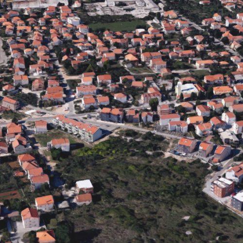 Građevinsko zemljište, Zadar-Plovanija, 723 m2 – SM zona