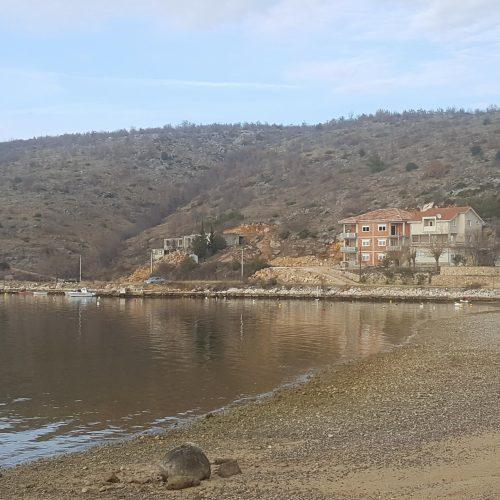 Građevinsko zemljište: 625 m2 Meka Draga – Prvi red uz more!!!