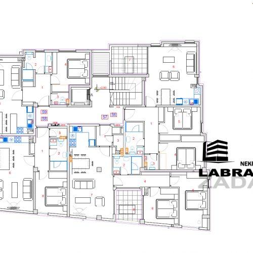 Stan: Zadar-Vidikovac, 70,9 m2, novogradnja S6 V5