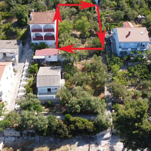 Građevinsko zemljište, Ošljak, 451 m2 – 30 m od mora!!!