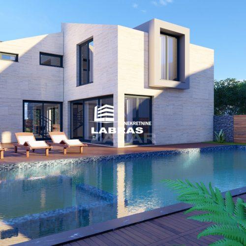 Villa s bazenom: Privlaka, 190 m2 – Blizina mora – Komplet namještena