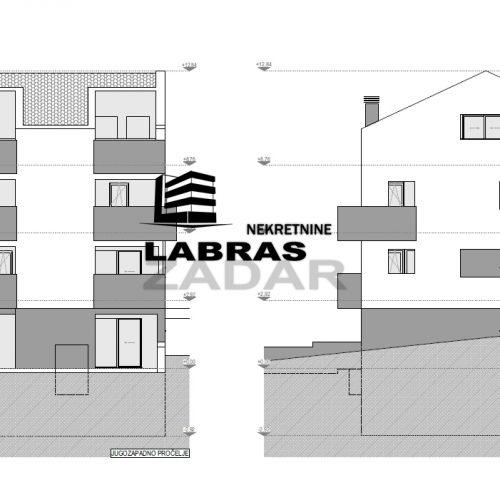 Stan: Zadar-Bili brig, 117,64 m2, novogradnja – Dvoetažni – S4