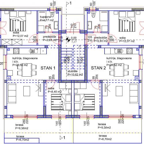 Stan: Turanj, 74,7 m2, novogradnja S2 Z1 – VRT! – Blizina mora!