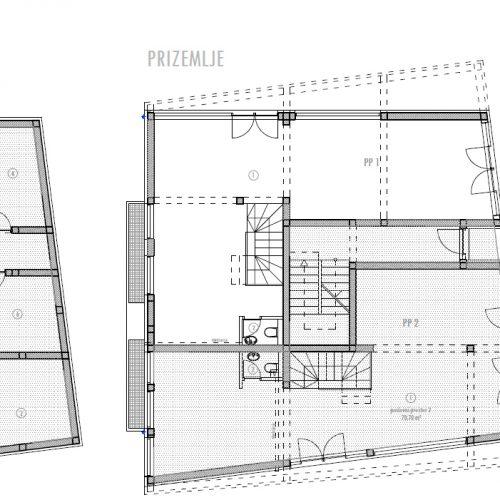 Poslovni prostor: Zadar-Belafuža, 102,29 m2 – novogradnja